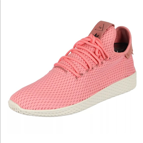 cf0c66cbd Adidas Pharrell Williams (PW) Tennis HU Shoes Pink